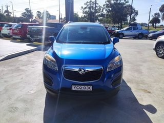 2014 Holden Trax TJ MY14 LS Blue 5 Speed Manual Wagon