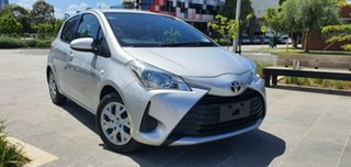 2017 Toyota Yaris NCP130R Ascent Silver Automatic Hatchback.