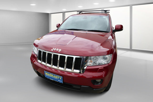 Used Jeep Grand Cherokee WK MY2013 Laredo West Footscray, 2013 Jeep Grand Cherokee WK MY2013 Laredo Red 5 Speed Sports Automatic Wagon