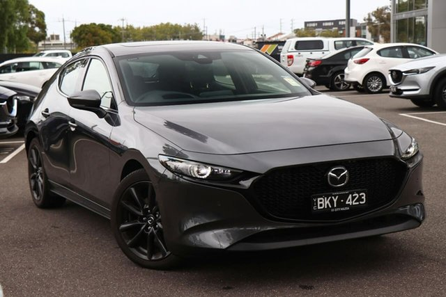 Demo Mazda 3 BP2HHA X20 SKYACTIV-Drive Astina South Melbourne, 2020 Mazda 3 BP2HHA X20 SKYACTIV-Drive Astina Machine Grey 6 Speed Sports Automatic Hatchback