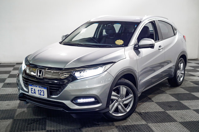 Used Honda HR-V MY19 +Luxe Edgewater, 2019 Honda HR-V MY19 +Luxe Silver 1 Speed Constant Variable Hatchback