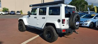 2014 Jeep Wrangler JK MY2014 Unlimited Overland White 5 Speed Automatic Hardtop