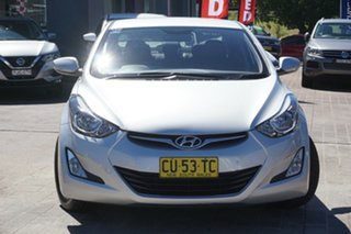 2015 Hyundai Elantra MD3 SE Silver 6 Speed Manual Sedan.