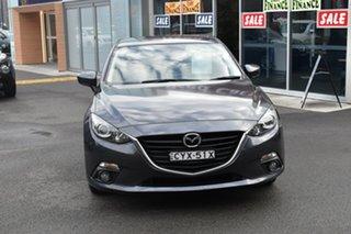 2015 Mazda 3 BM5478 Touring SKYACTIV-Drive Grey 6 Speed Sports Automatic Hatchback.