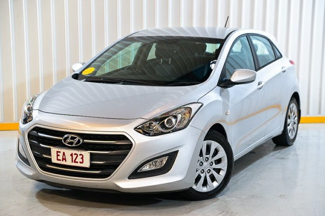 Used Hyundai i30 GD4 Series II MY17 Active Hendra, 2016 Hyundai i30 GD4 Series II MY17 Active Silver 6 Speed Sports Automatic Hatchback