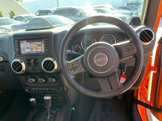 2012 Jeep Wrangler JK MY2012 Sport Orange 5 Speed Automatic Softtop