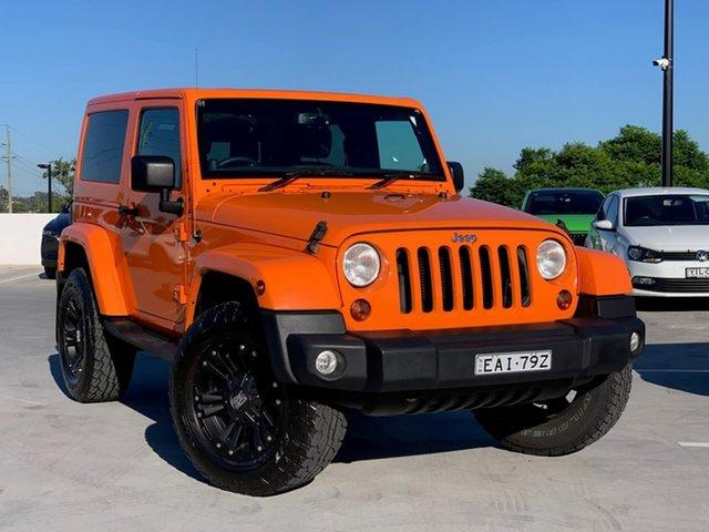 Used Jeep Wrangler JK MY2012 Sport Liverpool, 2012 Jeep Wrangler JK MY2012 Sport Orange 5 Speed Automatic Softtop
