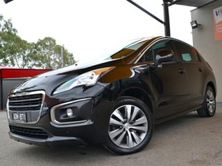 2015 Peugeot 3008 T8 MY15 Active SUV Black 6 Speed Sports Automatic Hatchback