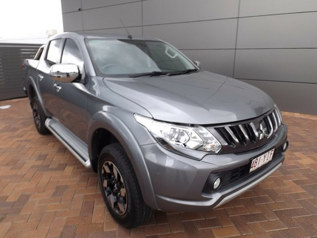 Used Mitsubishi Triton MQ MY18 Exceed Double Cab Toowoomba, 2018 Mitsubishi Triton MQ MY18 Exceed Double Cab Grey 5 Speed Sports Automatic Utility