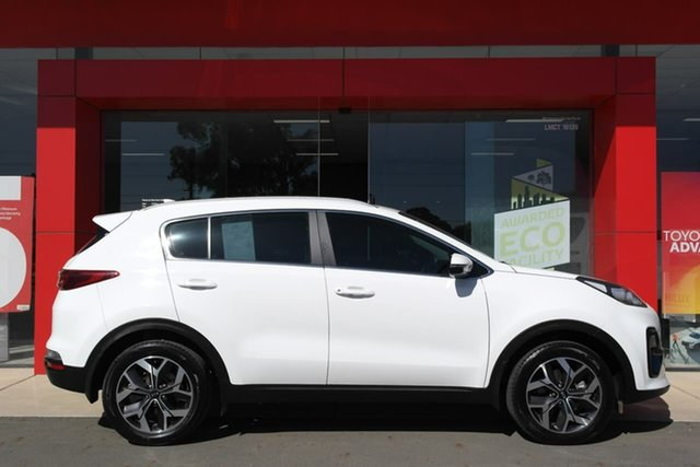 Pre-Owned Kia Sportage QL MY19 Si 2WD Premium Swan Hill, 2019 Kia Sportage QL MY19 Si 2WD Premium White 6 Speed Sports Automatic Wagon