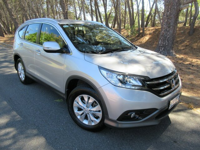 Used Honda CR-V RM MY15 VTi-S 4WD Reynella, 2014 Honda CR-V RM MY15 VTi-S 4WD Silver 5 Speed Sports Automatic Wagon