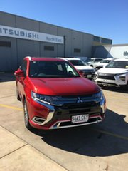 2020 Mitsubishi Outlander ZL MY20 PHEV AWD Exceed Diamond Red 1 Speed Automatic Wagon Hybrid.