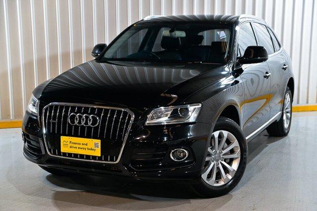Used Audi Q5 8R MY15 TFSI Tiptronic Quattro Hendra, 2015 Audi Q5 8R MY15 TFSI Tiptronic Quattro Black 8 Speed Sports Automatic Wagon