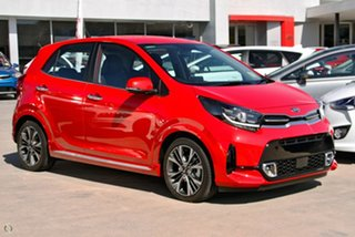 2020 Kia Picanto JA MY21 GT-Line Red 4 Speed Automatic Hatchback