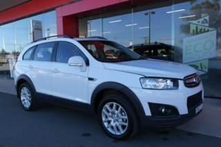 2015 Holden Captiva CG MY15 7 Active White 6 Speed Sports Automatic Wagon.