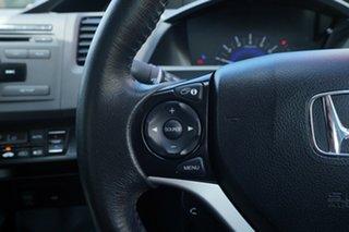 2014 Honda Civic 9th Gen Ser II MY14 VTi-L Silver 5 Speed Sports Automatic Sedan