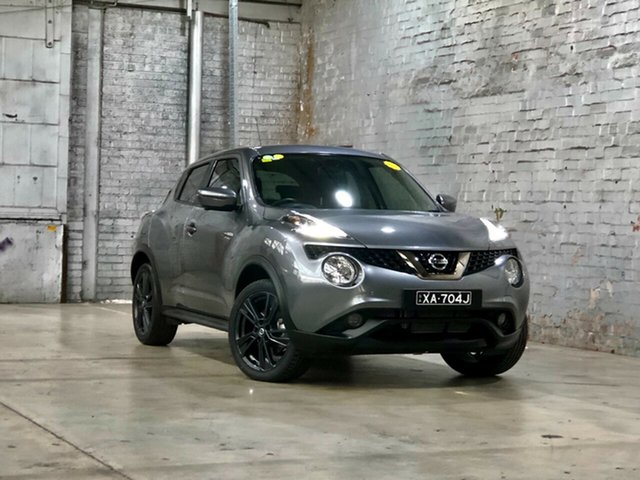 Used Nissan Juke F15 Series 2 Ti-S X-tronic AWD Mile End South, 2018 Nissan Juke F15 Series 2 Ti-S X-tronic AWD Grey 1 Speed Constant Variable Hatchback