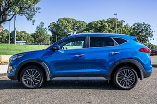 2018 Hyundai Tucson TL3 MY19 Elite 2WD Aqua Blue 6 Speed Automatic Wagon