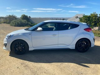 2015 Hyundai Veloster FS4 Series II SR Coupe Turbo White 6 Speed Manual Hatchback