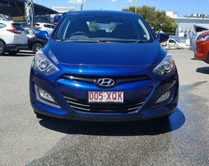2012 Hyundai i30 GD Active Atlantic Blue 6 Speed Sports Automatic Hatchback.