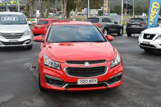 2016 Holden Cruze JH Series II MY16 SRI Z-Series Red 6 Speed Sports Automatic Sedan.