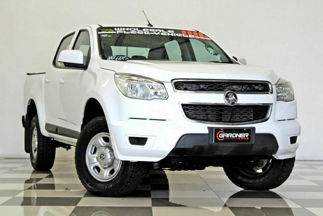 Used Holden Colorado RG MY16 LS (4x2) Burleigh Heads, 2016 Holden Colorado RG MY16 LS (4x2) White 6 Speed Automatic Crew Cab Pickup