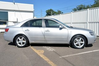 2007 Hyundai Sonata NF MY07 Elite Silver 5 Speed Automatic Sedan