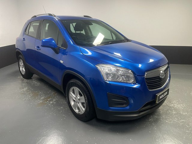 Used Holden Trax TJ MY14 LS Hamilton, 2014 Holden Trax TJ MY14 LS Blue 5 Speed Manual Wagon