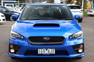 2016 Subaru WRX V1 MY16 Premium AWD WR Blue 6 Speed Manual Sedan.