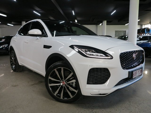 Used Jaguar E-PACE X540 19MY R-Dynamic S Albion, 2018 Jaguar E-PACE X540 19MY R-Dynamic S White 9 Speed Sports Automatic Wagon