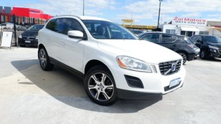 2012 Volvo XC60 DZ MY12 T6 Geartronic AWD R-Design White 6 Speed Sports Automatic Wagon.