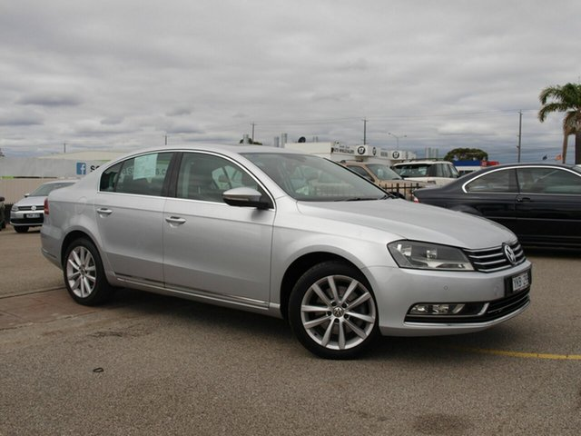 Used Volkswagen Passat Type 3C MY11 125TDI DSG Highline Cheltenham, 2011 Volkswagen Passat Type 3C MY11 125TDI DSG Highline Silver 6 Speed Sports Automatic Dual Clutch