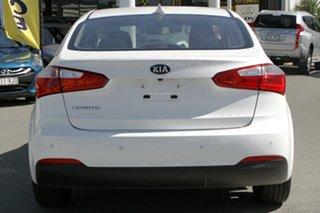 2015 Kia Cerato YD MY15 S Premium Snow White Pearl 6 Speed Sports Automatic Sedan