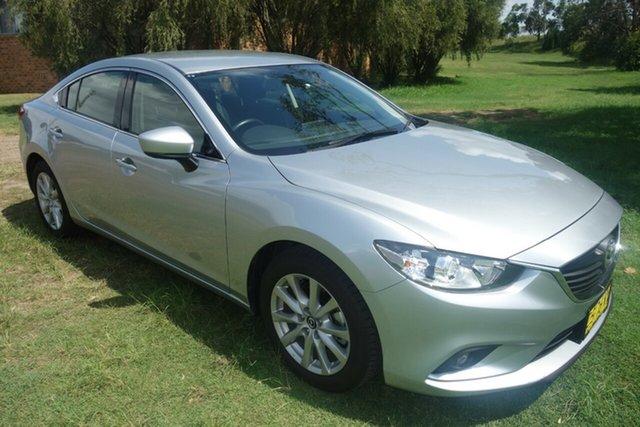 Used Mazda 6 GL1031 Sport SKYACTIV-Drive East Maitland, 2017 Mazda 6 GL1031 Sport SKYACTIV-Drive Silver 6 Speed Sports Automatic Sedan