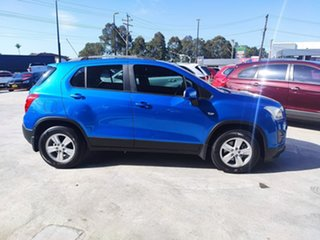 2014 Holden Trax TJ MY14 LS Blue 5 Speed Manual Wagon.