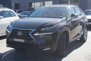 2016 Lexus NX AGZ15R NX200t AWD Sports Luxury Black 6 Speed Sports Automatic Wagon