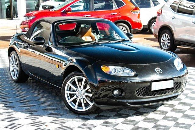 Used Mazda MX-5 NC30F1 Attadale, 2005 Mazda MX-5 NC30F1 Black 6 Speed Sports Automatic Softtop
