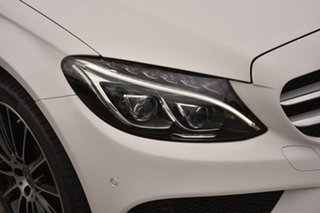 2018 Mercedes-Benz C-Class S205 808MY C300 Estate 9G-Tronic White 9 Speed Sports Automatic Wagon