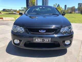 2008 Ford Falcon BF Mk II XR6 Ute Super Cab Black 4 Speed Sports Automatic Utility