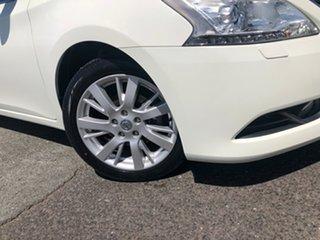 2013 Nissan Pulsar B17 TI White 1 Speed Constant Variable Sedan.