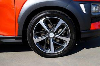 2017 Hyundai Kona OS MY18 Highlander 2WD Orange 6 Speed Sports Automatic Wagon