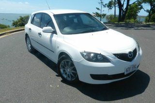2008 Mazda 3 BK10F2 Neo White 5 Speed Manual Hatchback.