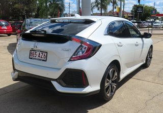 2017 Honda Civic MY17 VTi-L White Orchid Continuous Variable Hatchback.