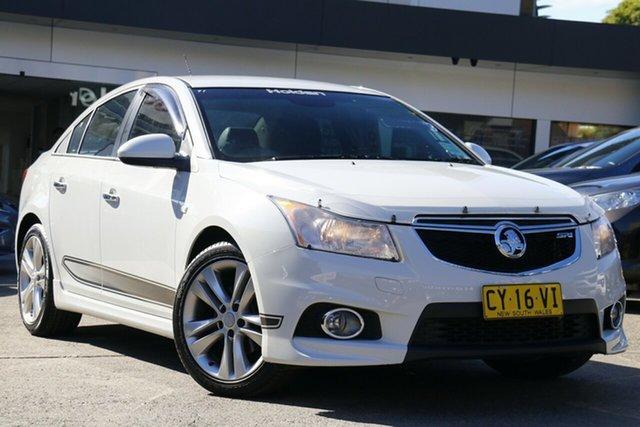 Used Holden Cruze JH Series II MY13 SRi-V Homebush, 2013 Holden Cruze JH Series II MY13 SRi-V White 6 Speed Sports Automatic Sedan