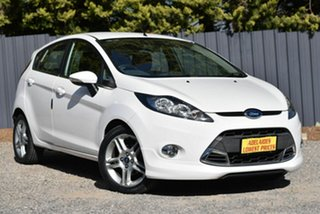 2012 Ford Fiesta WT Zetec PwrShift White 6 Speed Sports Automatic Dual Clutch Hatchback.