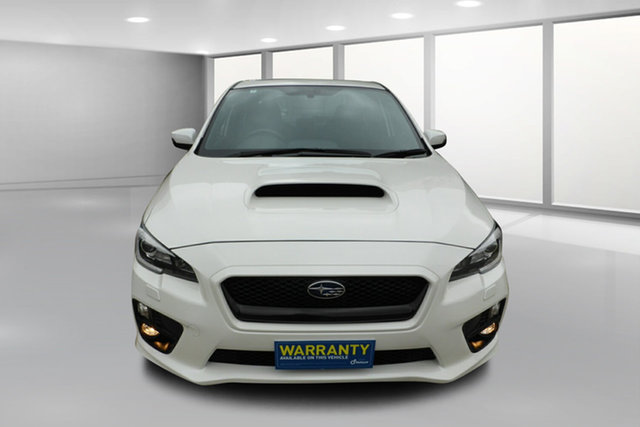 Used Subaru WRX V1 MY15 Premium AWD West Footscray, 2015 Subaru WRX V1 MY15 Premium AWD White 6 Speed Manual Sedan