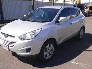 2012 Hyundai ix35 LM MY12 Active Silver 6 Speed Sports Automatic Wagon
