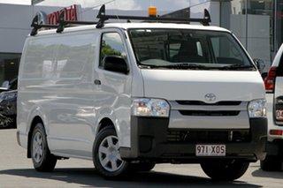 2017 Toyota HiAce KDH201R LWB Vanilla White 4 Speed Automatic Van.