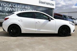 2015 Mazda 3 BM SP25 GT White 6 Speed Automatic Hatchback