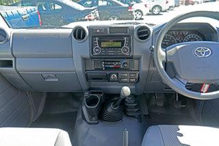 2020 Toyota Landcruiser VDJ76R Workmate White 5 Speed Manual Wagon